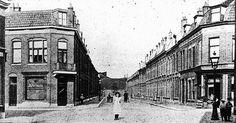 Wijk Wittevrouwen   De Zandhofsestraat 1912: Vanaf de kruising met de Goedestraat richting Blauwkapelseweg