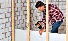 Holzständer-Wand