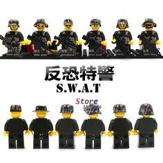 $40.42 (Buy here: https://alitems.com/g/1e8d114494ebda23ff8b16525dc3e8/?i=5&ulp=https%3A%2F%2Fwww.aliexpress.com%2Fitem%2FSingle-Sale-Rogue-One-A-Star-Wars-Story-Rebel-Combat-Frigate-Ahsoka-Tano-Minifigure-building-blocks%2F32771752865.html ) 60pcs starwars super heroes marvel SWAT Police Officer Tactical building blocks action figure bricks interesting toys for kids for just $40.42