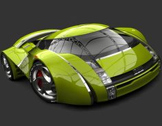 UBO Concept Car 2012 by Urbano Rodriguez, via Behance