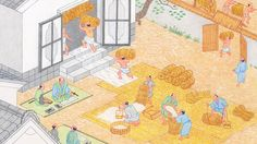 How to pay tribute In the Edo Period
