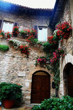 House in Assisi, Perugia province, Umbria region Italy.