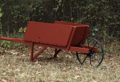When we moved into our current home the previous owner left behind an old wheelbarrow. When we first found out the owner accepted our offer for the house my wife was actually anxiously hoping that … Landscape Timber Crafts, Landscape Timbers, Woodworking Patterns, Woodworking Projects, Jays Custom Creations, Wooden Wheelbarrow, Picnic Table Plans, Outdoor Armchair, Diy Wood Projects