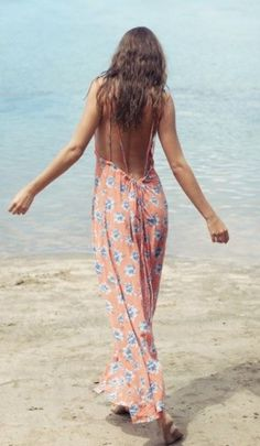 // backless maxi