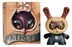 Atropa Dunny by Jason Limon x Kidrobot -- Very nice details on this one, and its supporting marketing materials are super cool too!