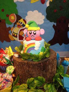 Kirby birthday Kirby cake