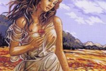 Gallery.ru / Все альбомы пользователя helen61 Game Of Thrones Characters, Cross Stitch, Fictional Characters, Punto De Cruz, Manualidades, Seed Stitch, Cross Stitches, Fantasy Characters, Crossstitch