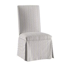 Parsons Chair Slipcover In Stocked Fabrics
