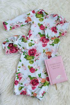 Baby Girl Gift Set Baby Shower Gift Set by heavenlythreadsshop