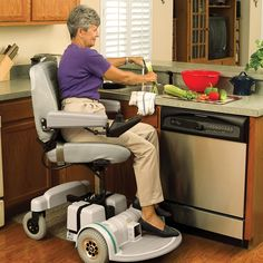 Power Seat Lift Accessory  ~  sadly, very little info on this option which would make my life SO MUCH EASIER!!!! I could do most household chores AND go shopping ALONE......