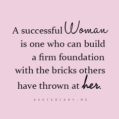 One brick at a time!