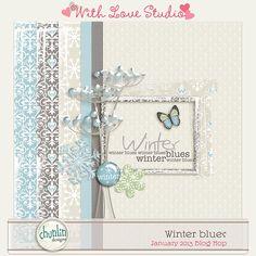 Quality DigiScrap Freebies  ~~~Chunlin Designs Winter Blues (one of the WLS January Blog Hop)