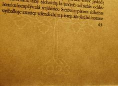 Dyrynk – Krásna kniha, její technická úprava (priesvitka ručného papiera)