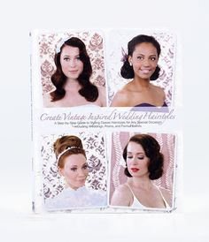 Create #Vintage Inspired Wedding Hairstyles: A Step By Step Guide #uniquevintage