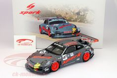 Porsche 911 (997) GT3 R #47 2 Coloque Pikes Peak 2012 R. Dumas 1:18 Spark