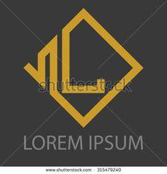 Letter L Logo Stock Vectors & Vector Clip Art   Shutterstock