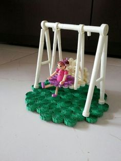 Doll on the swing...: