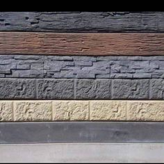 Sandstone Effect Sleepers And Steel Posts From Aussie