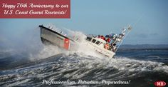 Happy 76th Anniversary to our U.S. Coast Guard Reservists!
