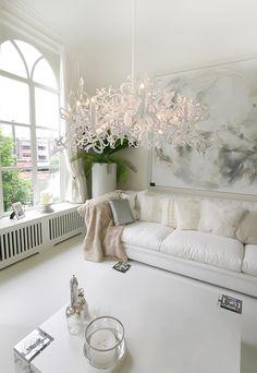 Rüya Gibi Salonlar İçin Beyazın Zarafeti!
