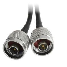 """PL259 UHF à 3.5 mm mono 1//8/"""" TS Plug closed-circuit caméra de télévision écran antenne 1 m câble RG58"""