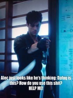 Alec Lightwood Meme