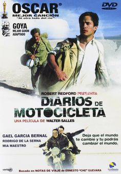 """""""Diarios de motocicleta"""" (2004) - a biopic about the journey and written memoir of the 23-year-old Ernesto Guevara, who would several years later become internationally known as the iconic Marxist guerrilla commander and revolutionary Che Guevara."""