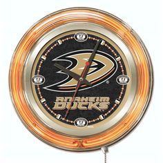 Anaheim Ducks 15'' Neon Clock - $149.99