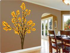 Wandtattoo   ♥ Wandtattoo Baum (dreifarbig) ♥ N11491   Ein Designerstück  Von I . TatoosDawanda WithPlants