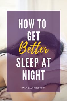 Sleep is not optional. But better sleep is a choice you can make. If you're ignoring these simple and easy rules, you may have trouble sleeping better at night.  #goodnightsleep #sleepbetter #sleep #sleepsoundly Falling Asleep Tips, How To Fall Asleep, Slow Wave Sleep, National Sleep Foundation, How To Get Better, Before Sleep, Have A Good Night, Trouble Sleeping, Healthy Sleep
