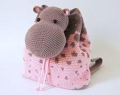 crochet backpack pattern – Etsy