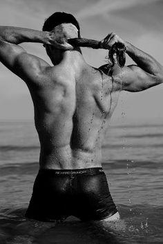 Dominic by Michael Dar wearing RICHARD DAYHOFF premium performance trunks.#michaeldar #photography  #richarddayhoff #richarddayhoffunderwear #theultimatefirstlayer #mensunderwear #swimwear #wet #water #timelesselegance #timelessbeauty #malebeauty #underwearmodel #underwear #boxerbriefs #briefs #premium #luxury #performance #menswear #mensstyle #mensfashion #athleisure #menshealthstyle #mensbook #best Men's Underwear, Athleisure, Lion Mane, Le Male, Mans World, Man Candy, My Passion, Male Models, Boxer