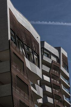 Zaha Hadid and Daniel Libeskind   apartments Milan.