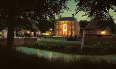 Châteauhotel en -restaurant De Havixhorst - Top Trouwlocaties - De Schiphorst, Drenthe #trouwlocatie #trouwen #feestlocatie