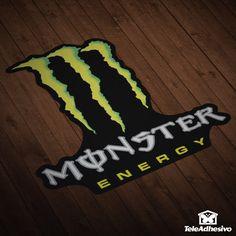 Adesivi per Auto e Moto Monster 2