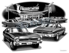 Chevy nova 1970 ss #muscle car auto art print    #**free usa #shipping**,  View more on the LINK: 	http://www.zeppy.io/product/gb/2/222000017200/