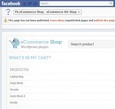 How to create an eCommerce shop in WordPress and integrate it with Facebook