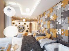 Increíble habitación juvenil para niños diseñada por Geometrix Design