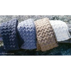 Free Knitting Patterns: Free Knitting Pattern: Pebbles Scarf