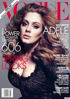 I don't want to ever hear about Adele's weight. Look at this women, so beautiful with a voice that is beyond belief. People need to recognize a class act when it's so evidently placed in front of them. And if you don't believe me, ask her grammys...
