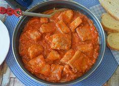 RECETA DE ATÚN encebollado con tomate