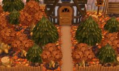 Autumn in Animal Crossing New Leaf. Acnl