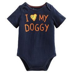 """Jumping Beans® """"I Love My Doggy"""" Bodysuit - Baby"""