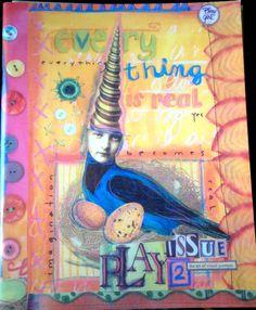 PLAY The Art of Visual Journals Zine Vol. 2 by teeshamoore