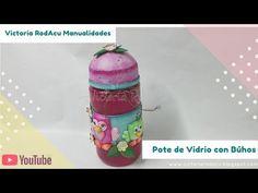 DIY Pote de Vidrio Decorado con Búhos SORTEO CERRADO Victoria RodAcu - YouTube