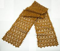 Brighten up your wardrobe with a bit of sunshine when you accessorize with this delightful scarf from the Willow Design Team. Designed as the perfect springtime accessory, the lacy scarf, is for when you need a hint of warmth without the extra bulk. The intermediate pattern is crocheted with Willow Veil, a super light weight 100% Egyptian Giza mercerized cotton available in 16 gorgeous machine-washable colors.