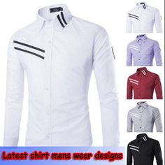 Latest shirt mens wear designs