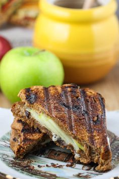 Apple Pie Panini