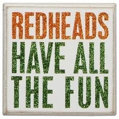 Fun have more redhead
