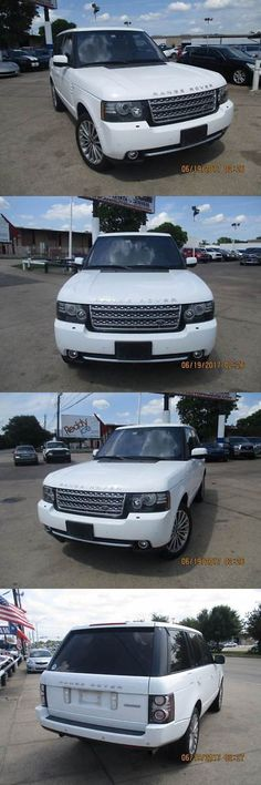 SUVs: 2012 Land Rover Range Rover Supercharged 4X4 4Dr Suv 2012 Land Rover Range Rover Supercharged 4X4 4Dr Suv White Suv 5.0L V8 Superchar -> BUY IT NOW ONLY: $10100 on eBay!